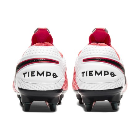 Tiempo Legend 8 Elite Anti-Clog SG-Pro rose blanc