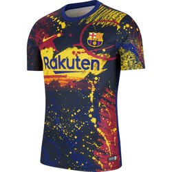 Maillot avant match FC Barcelone graphic 2019/20