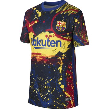 Maillot junior avant match FC Barcelone graphic 2019/20