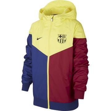 Coupe vent junior FC Barcelone jaune 2019/20
