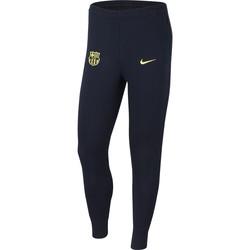 Pantalon survêtement FC Barcelone GFA Fleece bleu jaune 2019/20