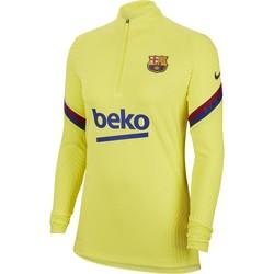 Sweat zippé Femme FC Barcelone VaporKnit jaune 2019/20