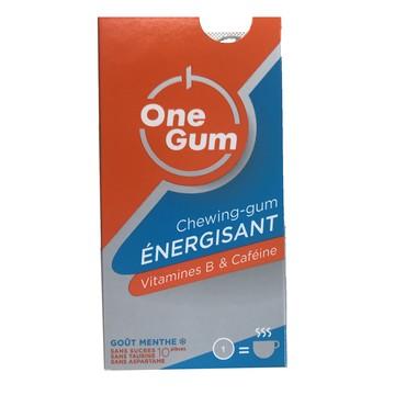 Chewing-gum énergisant One gum