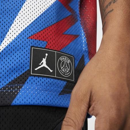 Maillot PSG Jordan Lifestyle bleu 2019/20