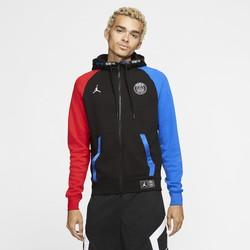 Veste survêtement PSG Jordan Tech Fleece rouge bleu 2019/20