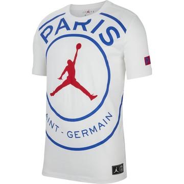 T-shirt PSG Jordan blanc 2019/20