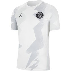 Maillot avant match PSG Jordan blanc 2019/20