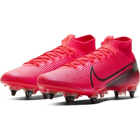 Mercurial Superfly VII Elite Anti-Clog SG-Pro rose