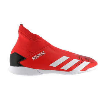 Predator junior 20.3 LaceLess Indoor noir rouge