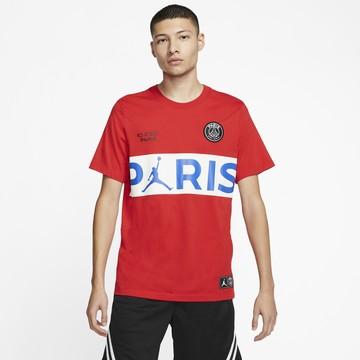 T-shirt PSG Jordan rouge blanc 2019/20