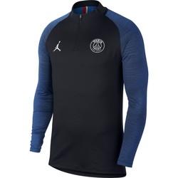 Sweat zippé PSG Jordan noir bleu 2019/20
