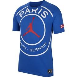 T-shirt PSG Jordan bleu 2019/20
