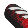 Protège tibias Predator noir rouge