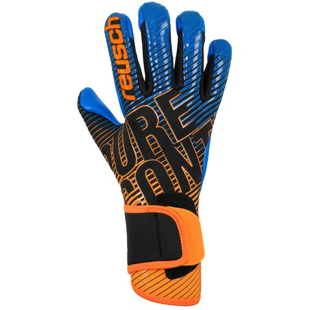 Gants Gardien junior Reusch Pure Contact 3 S1 bleu orange 2020