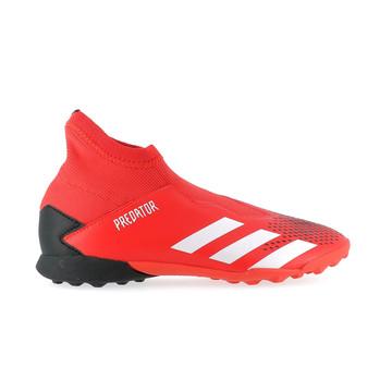 Predator 20.3 Laceless Futsal noir rouge