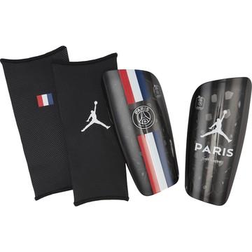 Protège tibias PSG Jordan noir bleu 2019/20