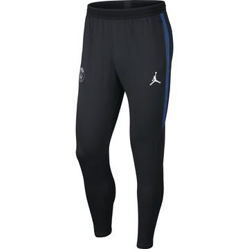 Pantalon survêtement PSG Jordan noir bleu 2019/20