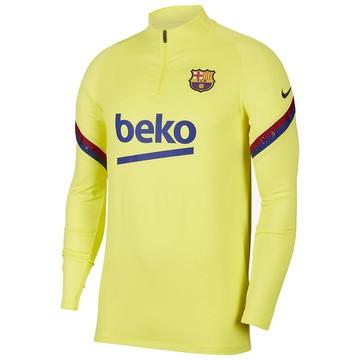 Sweat zippé FC Barcelone jaune 2019/20