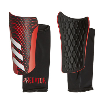 Protège tibias Predator 20 noir rouge 2019/20