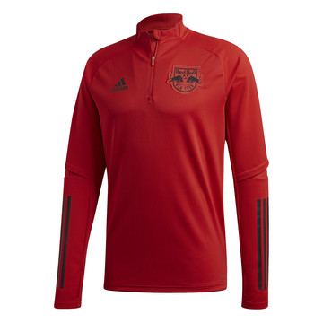Sweat zippé New York Red Bull rouge 2020