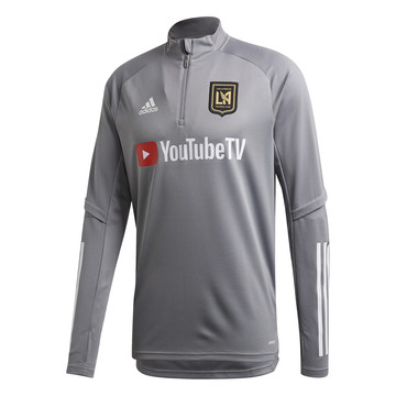 Sweat zippé Los Angeles FC gris 2020