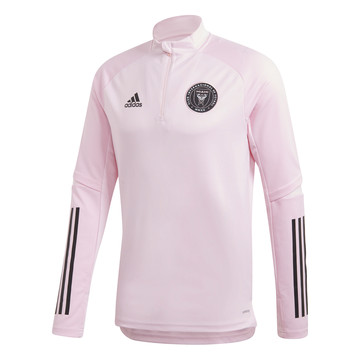 Sweat zippé Inter Miami rose 2020