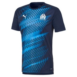 Maillot entraînement junior OM Stadium bleu 2019/20