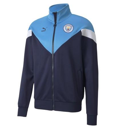 Veste survêtement Manchester City Iconic bleu 2019/20