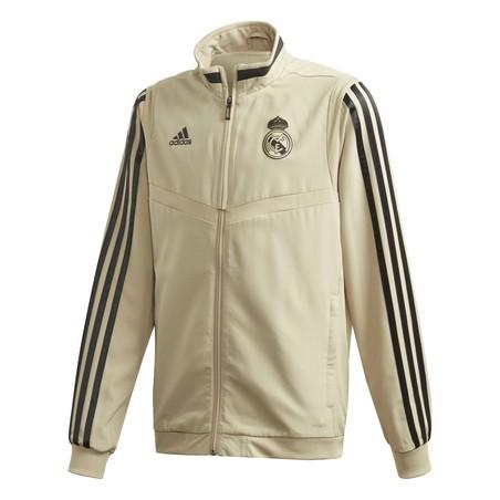 Veste entraînement junior Real Madrid or noir 2019/20