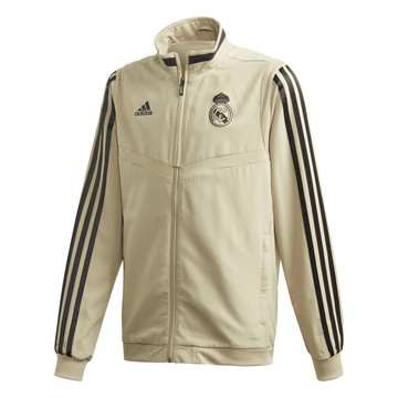 Veste entraînement junior Real Madrid or noir 2019/20