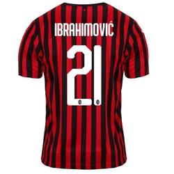 Maillot Ibrahimovic Milan AC domicile 2019/20