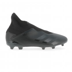 Predator 20.3 junior LaceLess FG noir