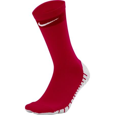 Chaussettes Nike MatchFit rouge
