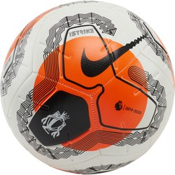 Ballon Premier League Strike blanc orange 2019/20