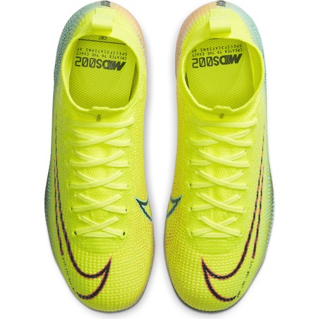 Mercurial Superfly VII junior Elite FG jaune