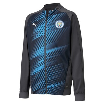 Veste survêtement junior Manchester City Stadium bleu 2019/20