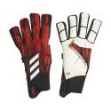 Gants gardien adidas Predator 20 barrettes noir rouge 2019/20