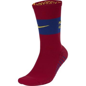 Chaussettes entraînement FC Barcelone rouge 2019/20