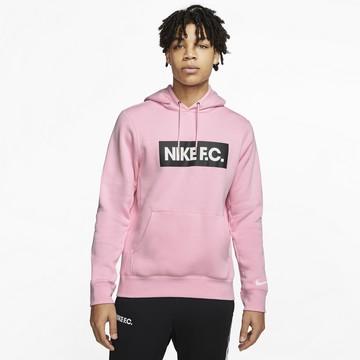 Sweat à capuche Nike F.C. rose 2020/21