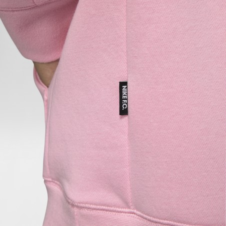 Sweat à capuche Nike F.C. rose 2020/21