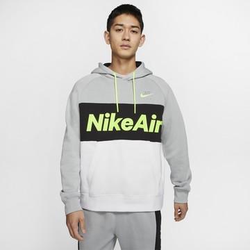 Sweat à capuche Nike Air gris vert