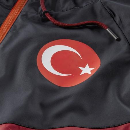 Coupe vent Turquie rouge noir 2020