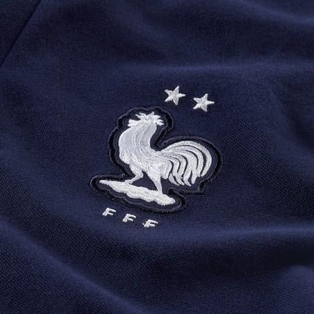 Polo Equipe de France Authentique bleu 2020