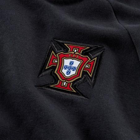 Sweat à capuche Portugal GFA Fleece noir 2020