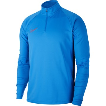 Sweat zippé Nike Academy bleu rouge 2019/20