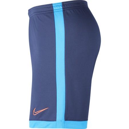 Short entraînement Nike Academy bleu rouge 2019/20