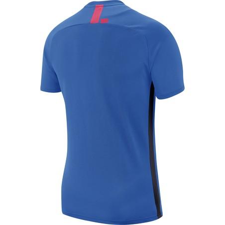 Maillot entraînement Nike academy bleu rouge