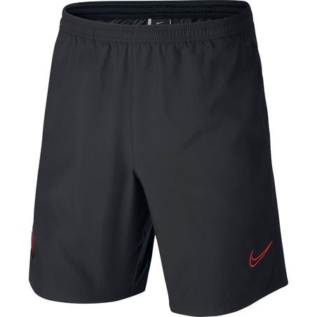 Short entraînement Nike Academy noir rouge