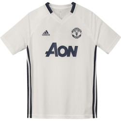 Maillot entraînement junior Manchester United blanc 2016 - 2017