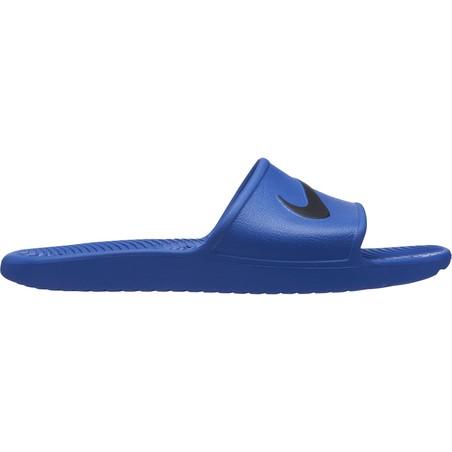 Sandales Nike Kawa Shower bleu noir